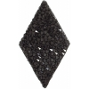 Swarovski Crystal Rock Diamond 25x31.7mm Jet
